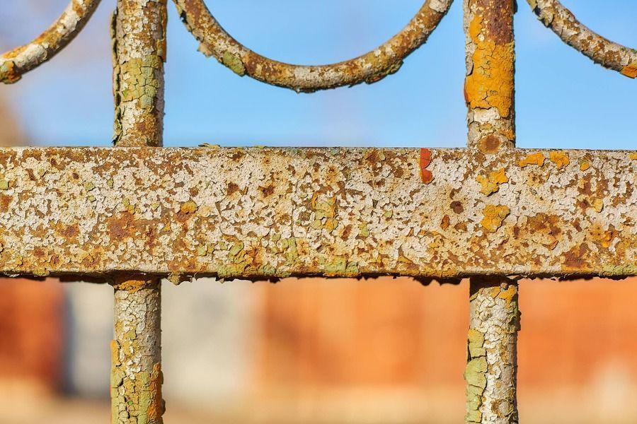 valla oxidada