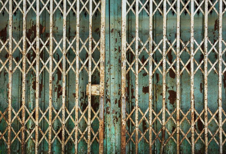 óxido puerta